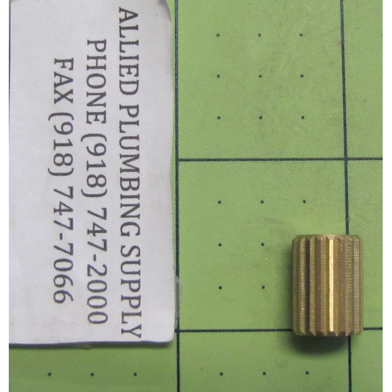 KOHLER HANDLE INSERT BRASS SPLINE ADAPTER
